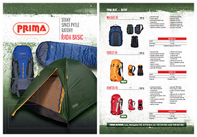 Download the catalog of sleeping bags PRIMA BASIC